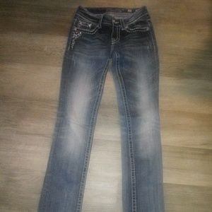 Miss Me skinny jeans size 25 (long)